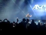 Ayumi Abrindo o Show dos RebeldeS em Vitória 15-12-12