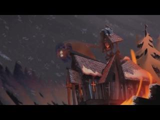 Сага о Бьорне / The Saga of Biorn (2011,мультфильм,Дания,0+) Проф.[одног.зак] / HD720