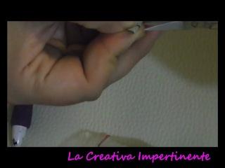 DIY - Tutorial Soutache - Come rifinire ed incollare una spilla ( brooch )