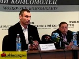 VITALI KLITSCHKO to NIKOLAY VALUEV