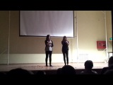 Аня и Женя(Доол Солнечный 2012, 3 смена, Минута славы, 2 тур)
