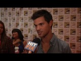 Comic Con 2012 - Interview with Taylor Lautner on Tracers