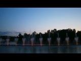 Винница Цветные фонтаны