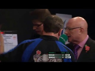 Phil Taylor vs Terry Jenkins (PDC Coral Masters 2013 / First Round)