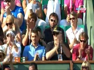 Roland Garros 2012 / 1 круг / Серена Уильямс (США) – Виржини Раззано (Франция) 1