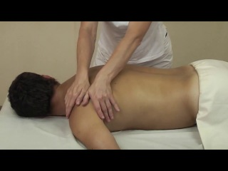 Massage School of Elena Zemskova middle back 4 5
