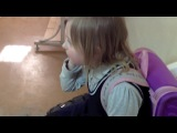 Дочка Жириновского. Снимали в школе у Ани.