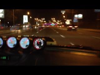 Турбина от HKS на Subaru c потрясающим звуком