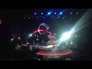 Полина Гагарина на финале шоу