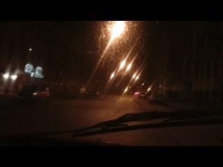 Вот такое такси мы поймали в Питере. 2012
