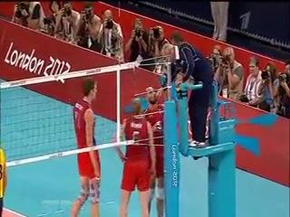 Решающие розыгрыши по ОИ Финал Россия - Бразилия, Волейбол, Лондон-2012