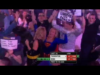 Robert Thornton vs Mervyn King (Grand Slam of Darts 2013 / Second Round)
