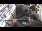 Снайперы террористы в Сирии