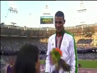 The Crowning of Toufik Makhloufi