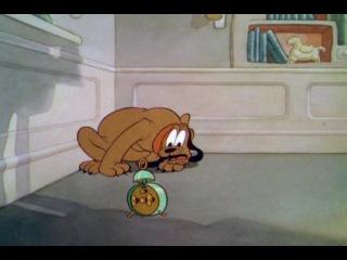 Дональд Дак / Donald Duck 02. Дональд и Плуто / Donald and Pluto (1936)