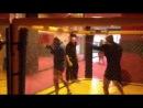 Тренировка по боксу. Испанский вариант )