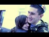 Девушка дождалась парня из армии.( настоящая любовь )Омск 2012