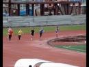 Финальный забег на 200 м у парней младше 1994 года рождения на Первенстве и чемпионате Сахалинской области 2012 года 6 мая