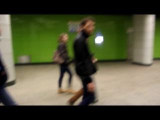 Экскурсия на новую станцию московского метро,калининской лини