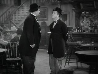 Запредельный Запад / Путь с Запада / Way Out West (1937)