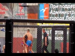 БК Росомаха (K-1) - Антон Цюпко от 16.09.2012 (с трибуны)
