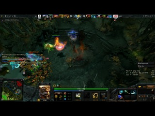 The International II, IG vs. LGD, triple kill by YYF