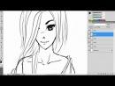 Lesson №1 How To Draw Anime-Manga (Как рисовать в стиле манга)