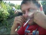 человек-сигаретный самовар