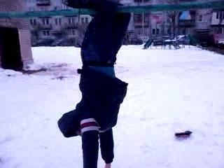 Зимонька упал