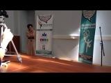 Rida Timerşaehova. Moskova Türkçe Olimpiyatları. Şarkı yarışması