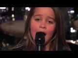 6-летняя девочка спела рок на шоу Америка ищет таланты