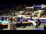 Разминка перед первой игрой финала ВК Локомотив (Новосибирск) - ВК Зенит (Казань)
