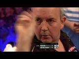 Phil Taylor vs Vincent van der Voort (PDC European Championship 2013 Round 1)