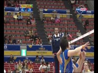 Волейбол / Женщины / Большой Чемпионский Кубок / 2-й тур / Бразилия – Таиланд 2