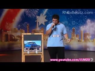 Имитация звуков автомобиля, звуки авто , шоу талантов