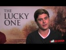 ZAC EFRON BATTLED ACTING FEARS IN THE LUCKY ONE
