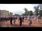 флешмоб на 1 сентября школа № 7 г. Приволье