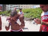Тренировка Витора Белфорта к бою с Люком Рокхольдом.
