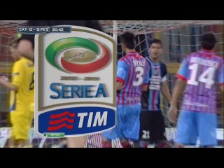 Чемпионат Италии 2012-13 / 37-й тур / Катания — Пескара /1