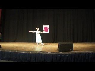 мой сольник индийского танца