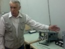 Шилов В.А. проводит экскурсию в лаб. 2 семестра МИФИ