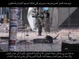 Сирийский офицер, рискуя своей жизнью, выходит в открытую к боевикам и призывает их сложить оружие.