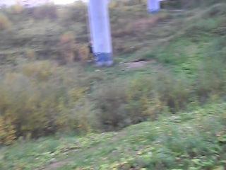 1 прыжок с дамбы (вид с низу)