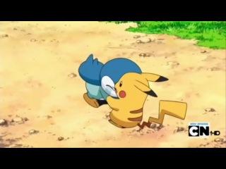 Покемон: Победители лиги Синно / Pokemon: The winners of the league Sinno - 13 сезон 34 серия [660] (Субтитры)