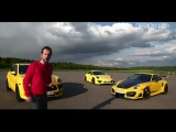 Drag Race TechArt : 991 S vs 997 GTStreet R vs Cayenne Turbo (Option Auto)