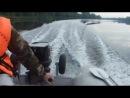 Работа Nissan Marine NS 30A4 на 4200 об мин