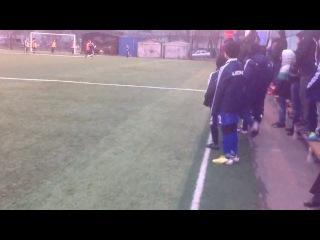 Гол в ворота команды