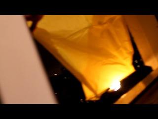 Новогодний запуск фонарика. =)