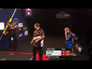 Phil Taylor vs Adrian Lewis (Grand Slam of Darts 2013 / Semi Final)