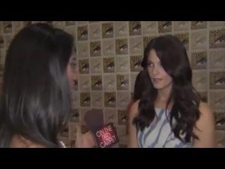 Ashley Greene talks Breaking Dawn at Comic Con 2011